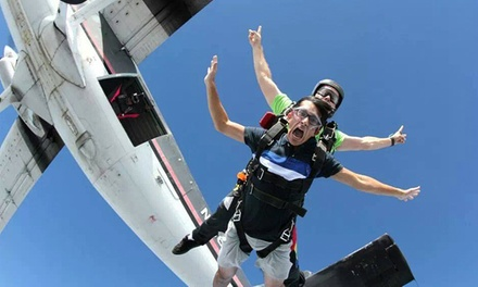 Tandem Skydive for One or Two and a T-shirt from Skydive Lake Wales (Up to 43% Off)