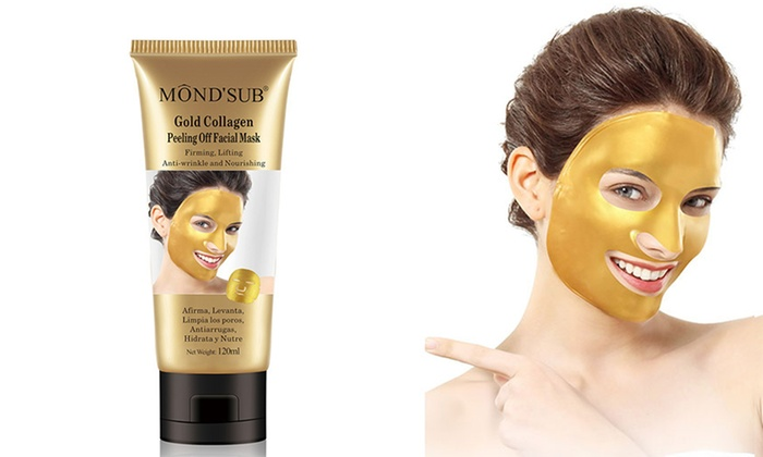 gold collagen mask how to use