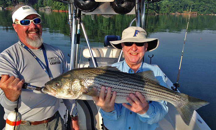 Half day fishing trip for four north georgia charters for Half day fishing trips