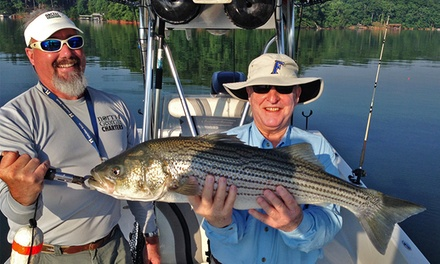 $210 for a Half-Day Fishing Trip for Up to Four on Lake Lanier from North Georgia Charters ($450 Value)