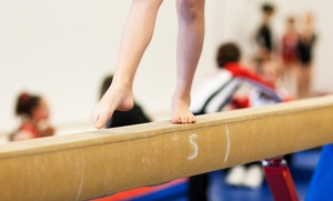 Champions Gymnastics: Four 45-Minute or 60-Minute Children's Gymnastics Lessons at Champions Gymnastics (Up to 58% Off)