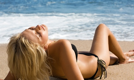 Spray Tans or Tan Party from Rock Star, LLC Certified Airbrush Tanning and Makeup Specialists (Mobile) (Up to 76% Off)