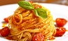 Italian Food with Delivery Available