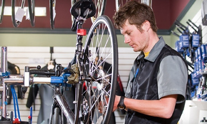 Bike City - Uptown Loop: Standard or Major Tune-Up at Bike City (Up to 58% Off)
