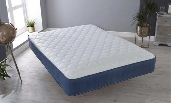 Cool Breeze Memory Foam Sprung Mattress for £59.99