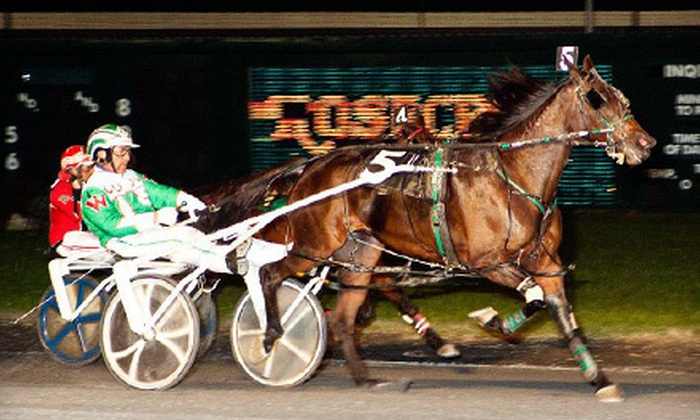 Rosecroft Raceway - Oxon Hill - Glassmanor: Horse Race with Concessions for One or Dining for Two or Four at Rosecroft Raceway in Fort Washington (Half Off)