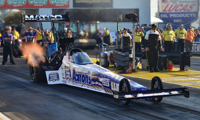 NHRA Midwest Nationals - East Saint Louis: Race-Day Package for the NHRA Midwest Nationals at Gateway Motorsports Park (Up to 52% Off)