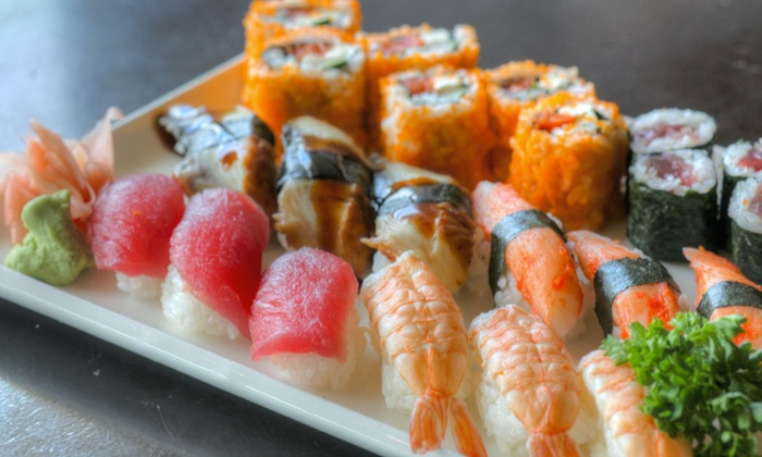 Tsukiji Lounge - Ala Moana - Kakaako: $33 for Meal with Asian-Style Appetizers, Sushi Rolls, andBeer Pitcher at Tsukiji Lounge (Up to $70.49 Value)