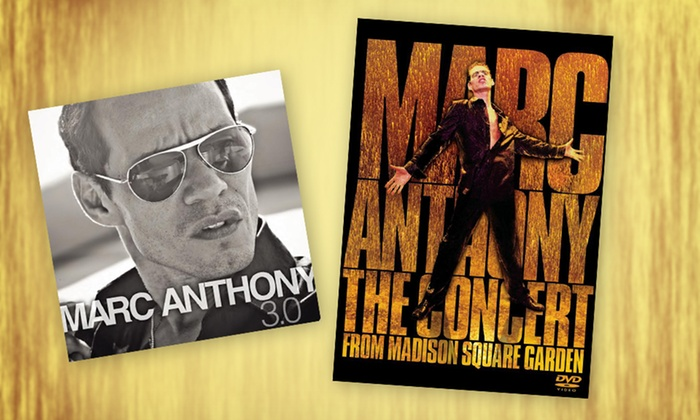 "Marc Anthony Bundle with New ""3.0"" CD and Live Concert DVD: Marc Anthony Bundle with New ""3.0"" CD and Live Concert DVD. Free Shipping."