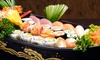 Ginban Sushi - Ahwatukee Foothills: $19.50 for Appetizers, Sake Bomb, and a Special Maki Roll for Two at Ginban Sushi ($31 Value)