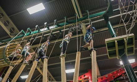 One-Hour High Ropes Course for One, Two or Four at Sky High Adventure (Up to 57% Off)