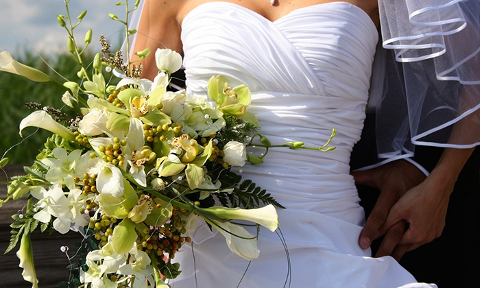 Flowers and Gifts of Altamonte - Altamonte Frosts: $150 for Wedding Flower Package with Two Bouquets and Boutonnieres from Flowers and Gifts of Altamonte ($350 Value)