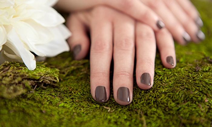 Harmony Day Spa - Rollinghills: One or Three Shellac Manicures at Harmony Day Spa (Up to 57% Off)