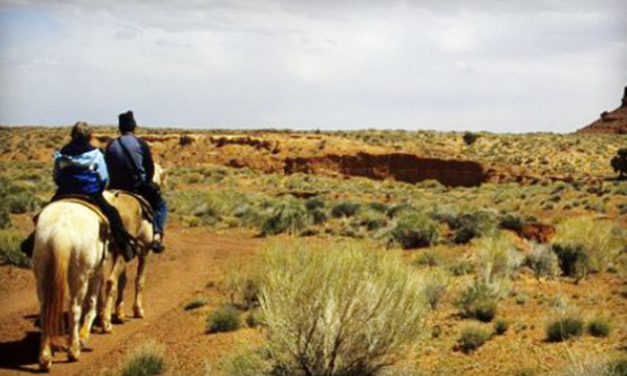 Double R Ranch - Marana: 90-Minute Horseback Ride for 1 or 2, or Birthday Party for Up to 8 Kids at Double R Ranch (Up to 51% Off)