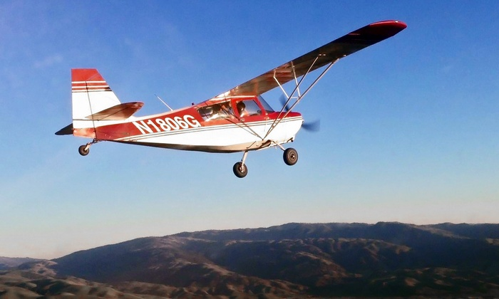 AeroDynamic Aviation - Multiple Locations: One or Three Flight Lessons and a Membership to AeroDynamic Aviation (Up to 68% Off)