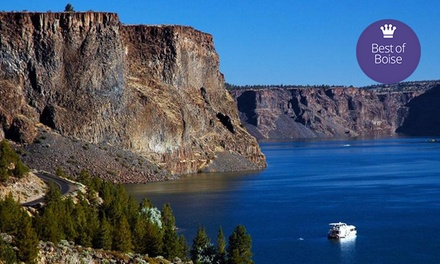 Houseboat Rental from Cove Palisades Resort and Lake Billy Chinook Houseboats (50% Off). Two Options Available.