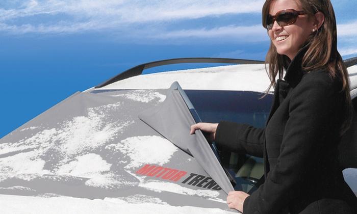 FrostGuard Windshield Protector with Wiper-Blade Cover: FrostGuard Windshield Protector with Wiper-Blade Cover. Free Returns.