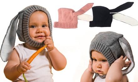 Sombrero de conejo para bebés