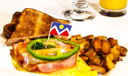 $12 for $20 Worth of Breakfast or Lunch for Two or More at The Delectable Egg