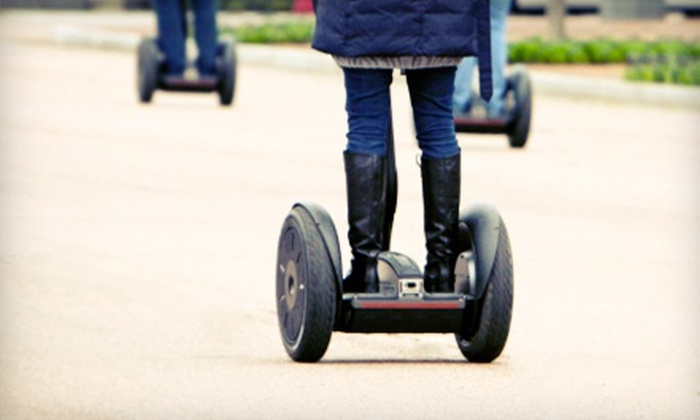 Seg Adventures - Plymouth: $25 for a Self-Guided Segway Tour with Seg Adventures in Plymouth ($50 Value)