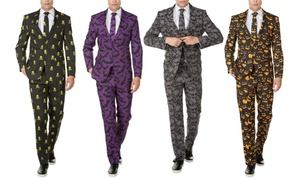 Braveman Men's Halloween-Themed Novelty Suits (2-Piece)