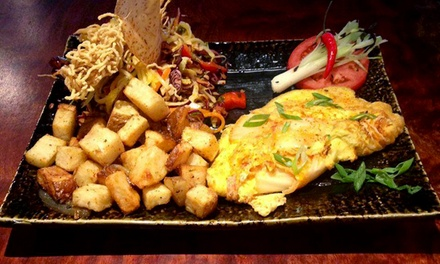 Japanese Brunch, Lunch, or Dinner for Two or Four at Izakaya (Up to 45% Off)