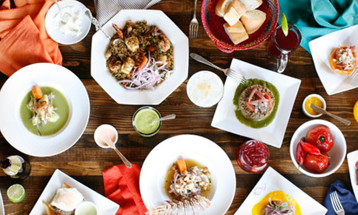 Inka Mama's - Multiple Locations: Peruvian Cuisine at Inka Mama's (Up to 57% Off)
