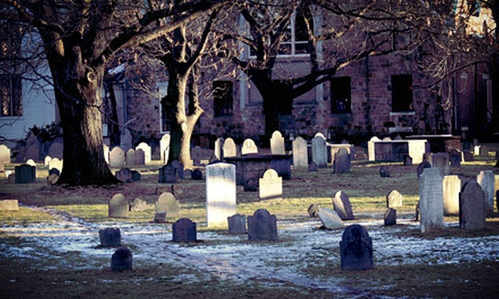 Cambridge Haunts - Harvard Square: Harvard Square Ghost Tours for Two or Four from Cambridge Haunts (Up to 58% Off)