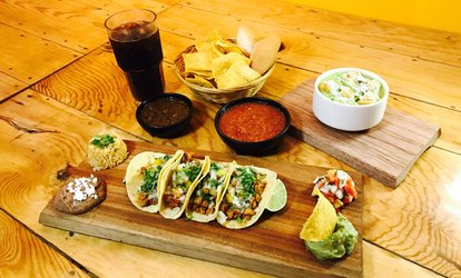 Three-Course Mexican Meal at Maria Bonita Taco Shop