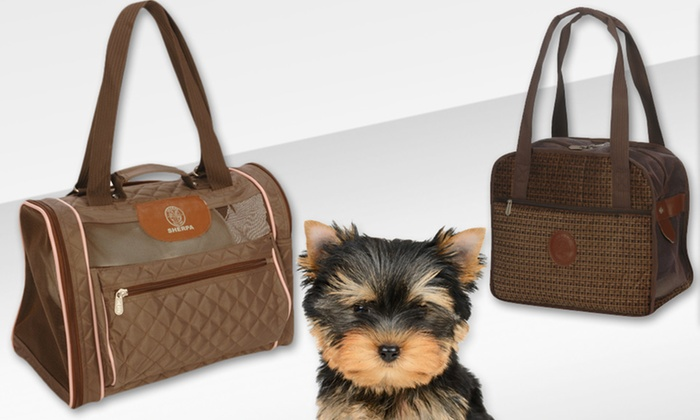 Sherpa Pet Carriers: $34.99 for a Sherpa Pet Carrier ($73.50 List Price). Multiple Styles Available. Free Shipping and Returns.