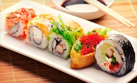 $10 for $20 or $18 for $30 Worth of Sushi and Japanese Cuisine at Rocking Tanuki