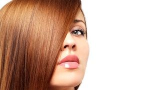 Waves Salon: Haircut, Color, or Keratin Packages at Waves Salon (Up to 72% Off). Five Options Available.