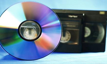 Videoband zoals VHS of Hi8 overzetten naar DVD bij R.P.Q. foto   video   drukwerk