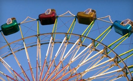 Carnival Admission for 1 (a $2 value) and 8 Rides - Christiansen Amusements in Vista