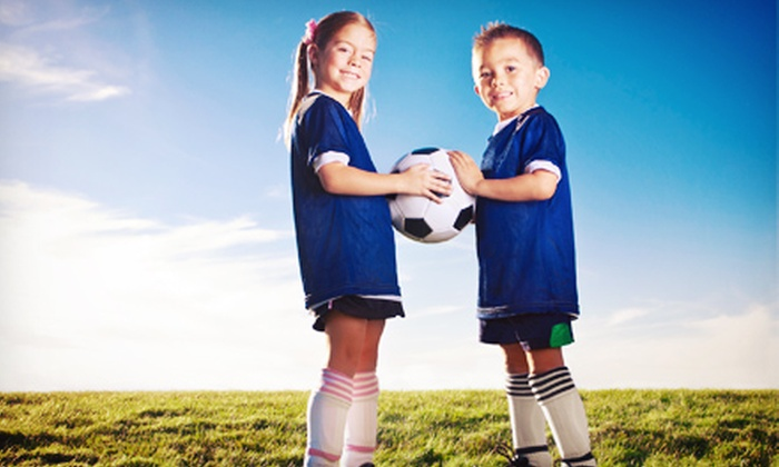 Kiddie Soccer - North Jersey: $65 for an Eight-Week Soccer Program for Kids Aged 3.5–6 from Kiddie Soccer ($130 Value)
