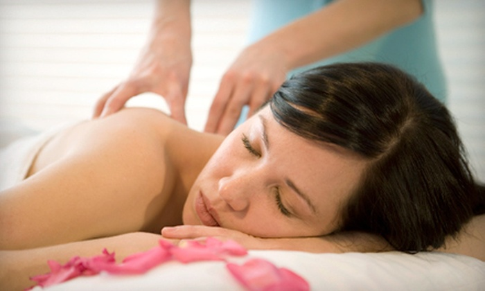 Dolphin Court Salon and Day Spa - Las Vegas: 55-Minute Swedish Massage with Express Facial or Therapeutic Pedicure at Dolphin Court Salon and Day Spa (Up to 55% Off)