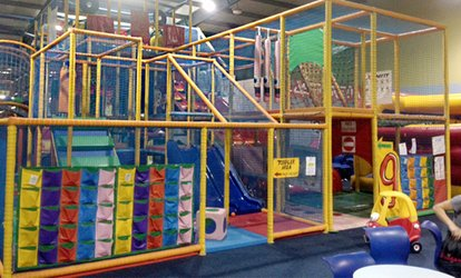 image for Soft Play and Laser Arena: Entry For Two (from £6) or Three (from £9) Children at Go Kids Go (Up to 50% Off)