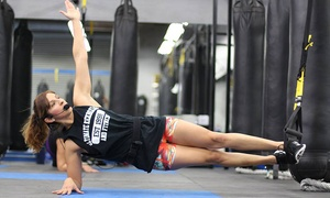 Ultimate Kickboxing & Fitness: 5 or 10 TRX Training Classes or Choice of 10 Fitness Classes at Ultimate Kickboxing & Fitness (Up to 66% Off)