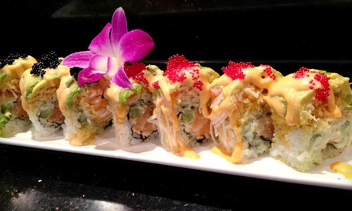 Ninja Sushi - North Brunswick: Japanese Cuisine at Ninja Sushi (Half Off). Two Options Available.