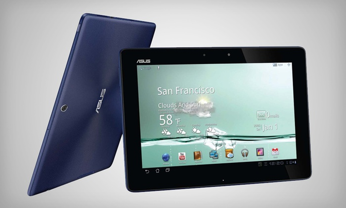 """ASUS 32GB Transformer 10.1"""" Tablet: $279.99 for an ASUS 32GB Transformer 10.1"""" Tablet in Blue (Refurbished) ($399.99 List Price). Free Shipping & Returns."""