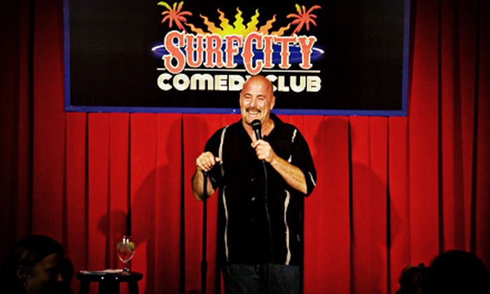 Surf City Comedy Club - Surf City Comedy Club: Comedy Show for Two or Four with Drinks at Surf City Comedy Club (Up to 57% Off)