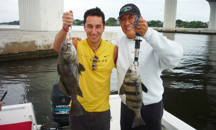 Captain John Raasch Charters - Stuart- Port Salerno: $175 for a Four-Hour Fishing Charter for Up to Four from Captain John Raasch Charters ($350 Value)