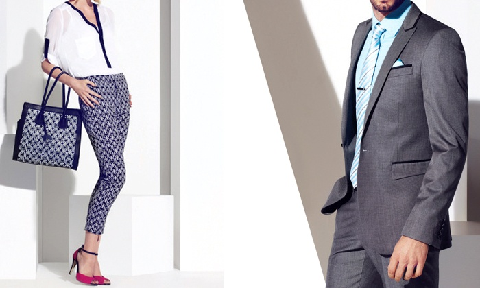 Le Château Outlet - Cambridge Smart Centre Outlet: C$29.99 for C$60 Worth of Men's and Women's Apparel, Shoes, and Accessories from Le Château Outlet