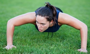 Fierce Body Boot Camp: Four or Eight Weeks of Boot-Camp Classes from Fierce Body Boot Camp (Up to 84% Off)