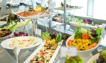 Breakfast or Dinner Buffet for up to 4 People starting from AED 95 at Grand Mercure Residence Abu Dhabi