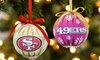 NFL 6-Pack LED Christmas Ornaments | Groupon