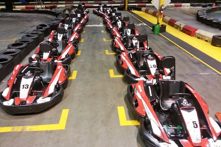 Exclusive Group Go-Kart Racing for up to 12 People at Indoor Kart Racing @ TBC (40% Off)