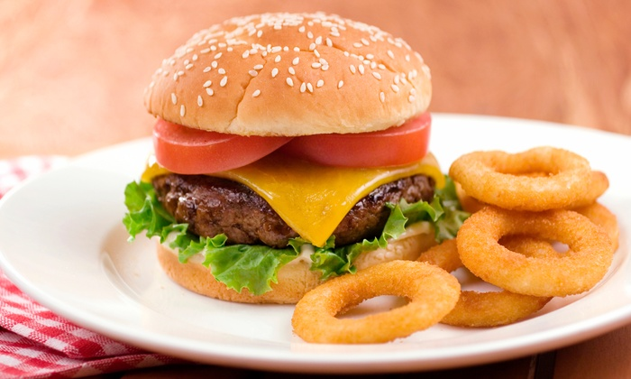 Route 66 Diner - Route 66 Diner: American Meal for One, Two, or Four with Cake at Route 66 Diner (Up to 48% Off)