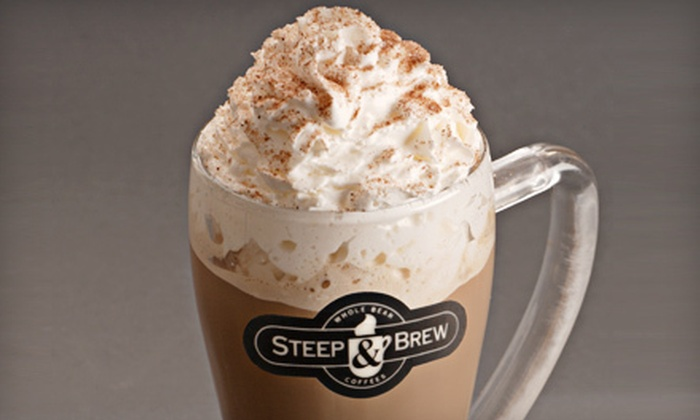 Steep and Brew - Madison: Five Medium Drinks or $5 for $10 Worth of Bulk Tea at Steep and Brew