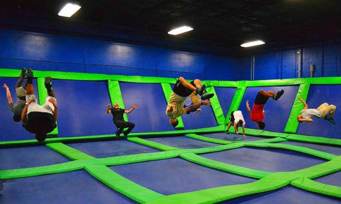 Steel City Jump Park - Crestwood South: $14 for Two Hours of Trampoline Arena Time at Steel City Jump Park ($24 Value)